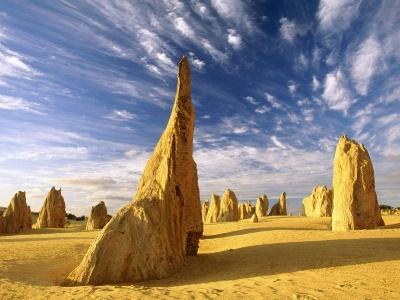 Australia-The Pinnacles Nambung National Park Western