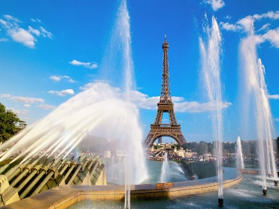 France-Eiffel Tower and