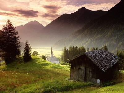 Tyrol AustriaMisty Mountain Village